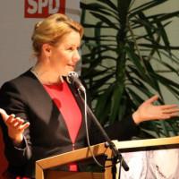 Neujahrsempfang 2019: Dr. Franziska Giffey in Karlstadt