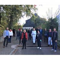 Der neu gewählte Vorstand und die Kreistagsfraktion der SPD Main-Spessart trafen sich auf der Benedikthushöhe Retzbach zur Auftaktklausur